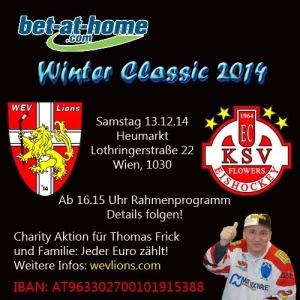 Winterclassic 2014 WEV Lions